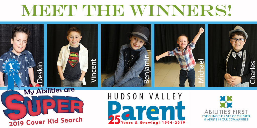 Kids with Special Needs contest winners