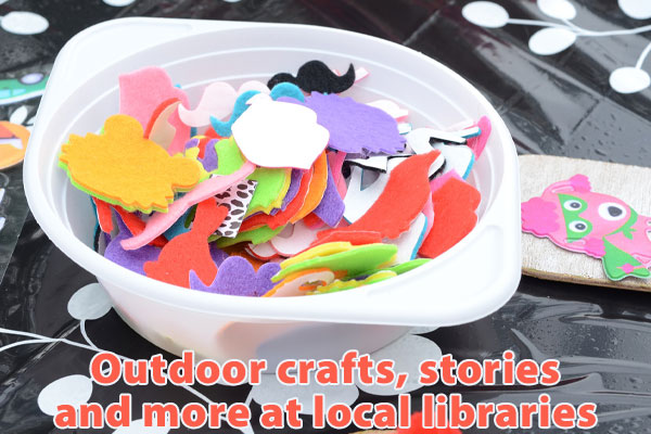 Outdoor fun can be had at your local libraries while still social distancing