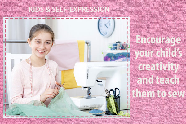 Sewing lets kids create their own look