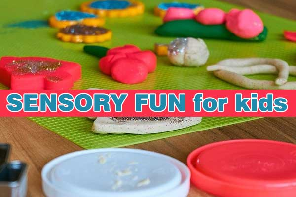 Simple sensory play activities for your kids