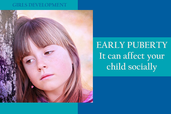 The emotional toll of early puberty