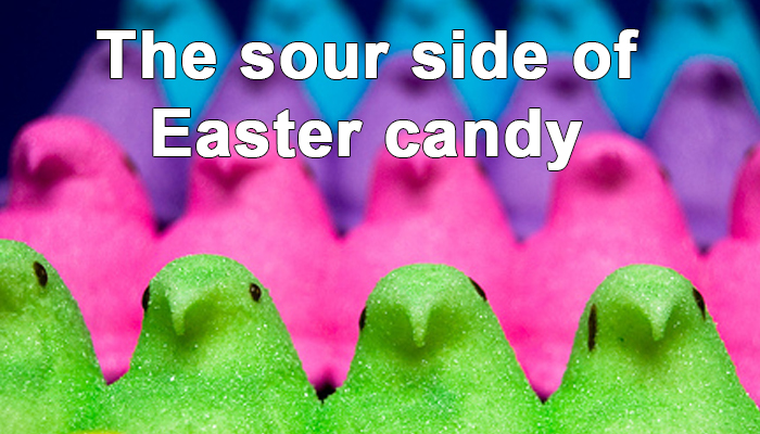are the additives in easter candy bad for kids