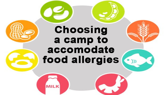 choosing a camp for kids with food allergies