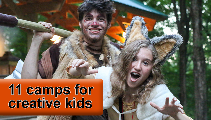 creative kids camp for summer hudson valley