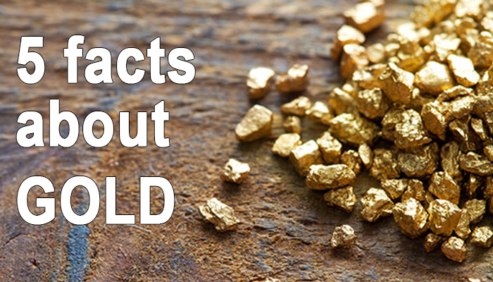 facts about gold for kids