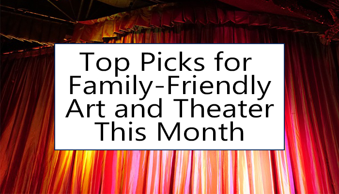 family friendly art and shows this January