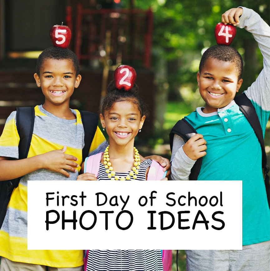 First Day Of School Photos Kids Diy Momtographer Back