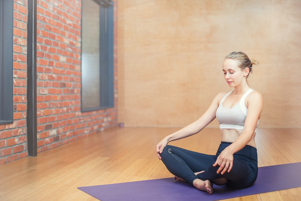 fitness in the new year and yoga