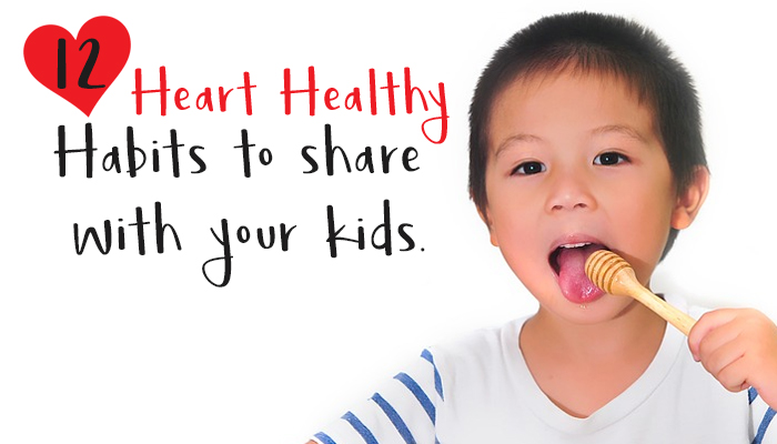 heart healthy tips for family