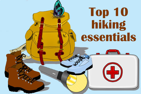 hiking, essentials, prepared, backpack