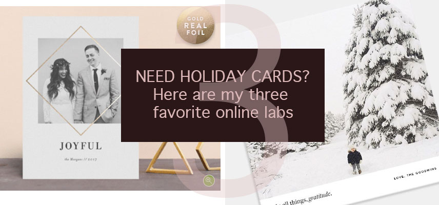 holiday cards, holiday card labs, where to buy holiday cards, online holiday cards