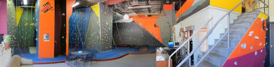 Inner Wall, Indoor rock climbing