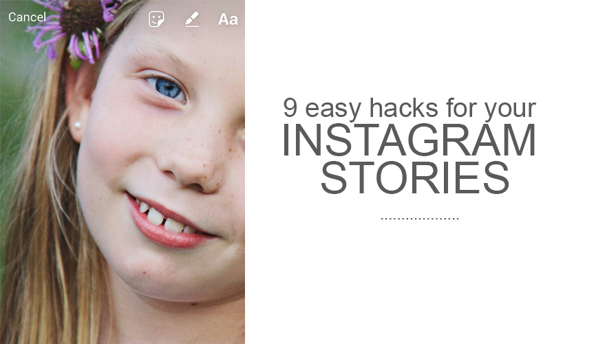 instagram hacks, instagram story hacks, instagram kids photos, momtographer