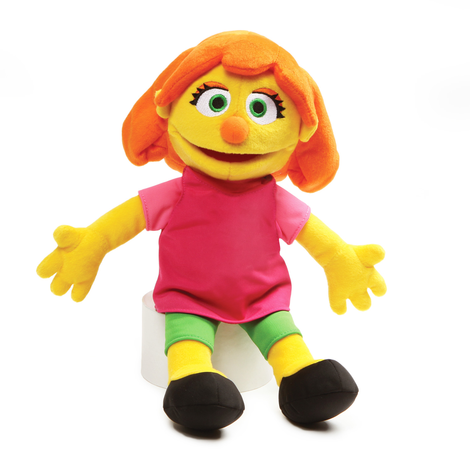 Plush Julia Doll From Sesame Street Giveaway!