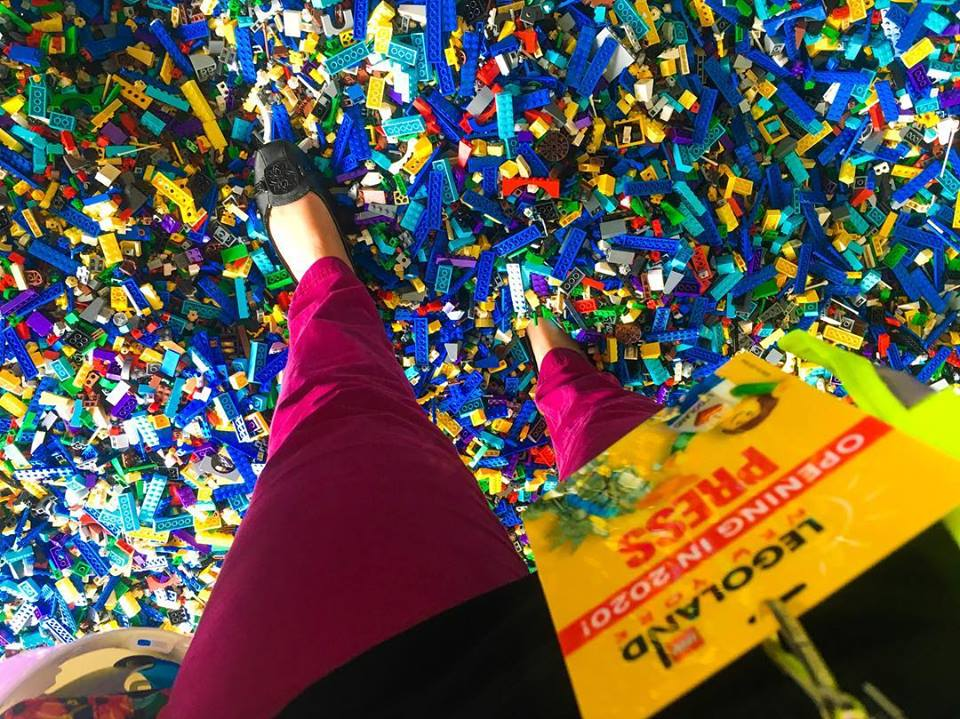 Legoland bricks at reveal
