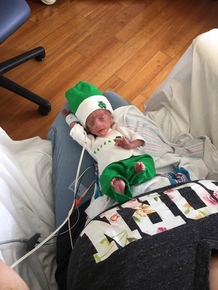 nicu, st. patrick's day, holidays, christmas, preemie, parenting, mom, dad, parenthood, hanukkah, kwanzaa, icu, nicu holiday, valentine's day, tips, family, friendship