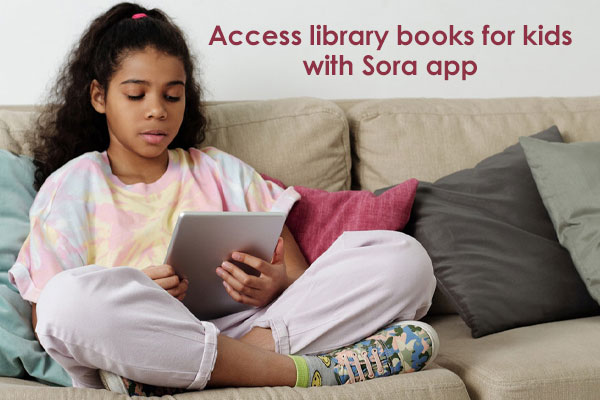 school, districts, RCLS, Sora app, reading, kids, library books