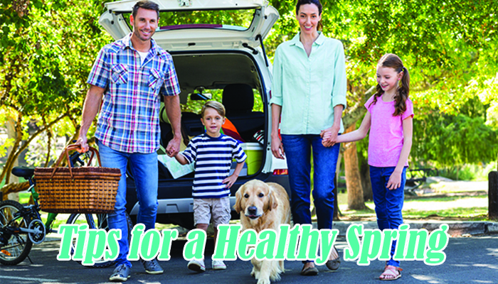 tips for a healthy spring, health tips, middletown medical