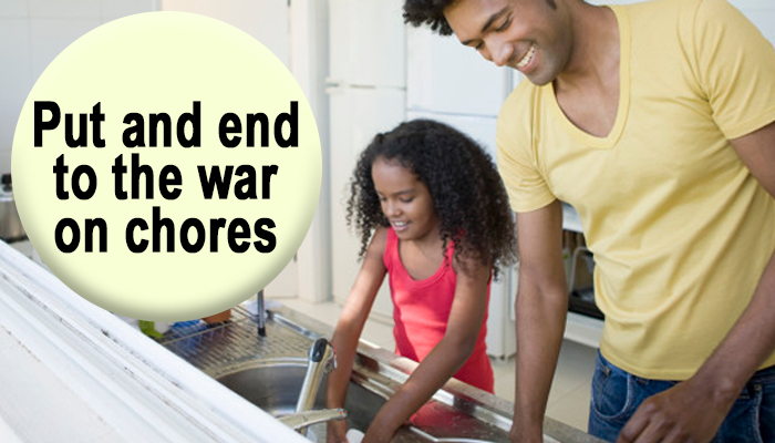 tips for getting kids to do chores around the house