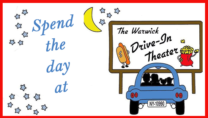 Spend The Day At Warwick Drive In