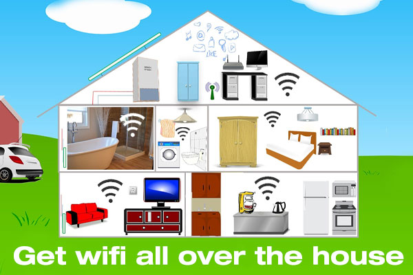 wifi, boost, signal, router
