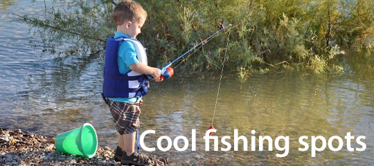 Kick back and relax with these great fishing spots