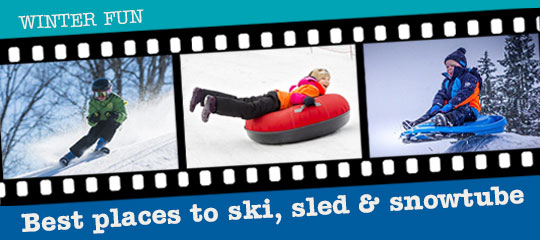 The snow is here and we have the places to go for some snowy family fun